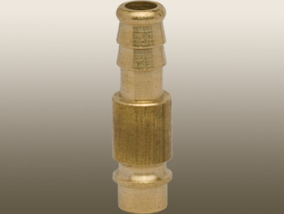 MICROBORE MALE PLUG TO HOSE BARB